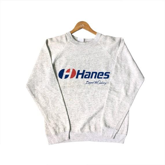PICK!! Vintage 90s Hanes Sweatshirt Made in USA Ha