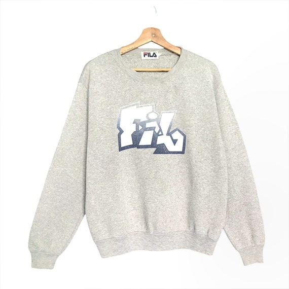 PICK!! Vintage Fila Crewneck Fila Sport Sweater Pu