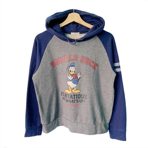 PICK!! Vintage Disney Donald Duck Cartoon Hoodie D
