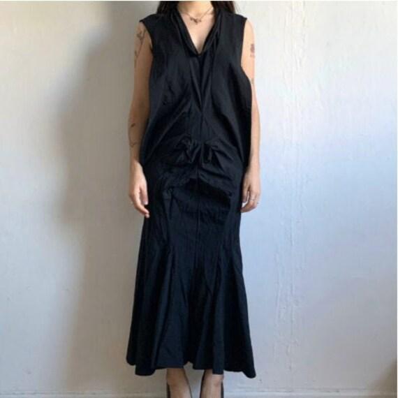 JUNYA WATANABE Black Deconstructed Dress