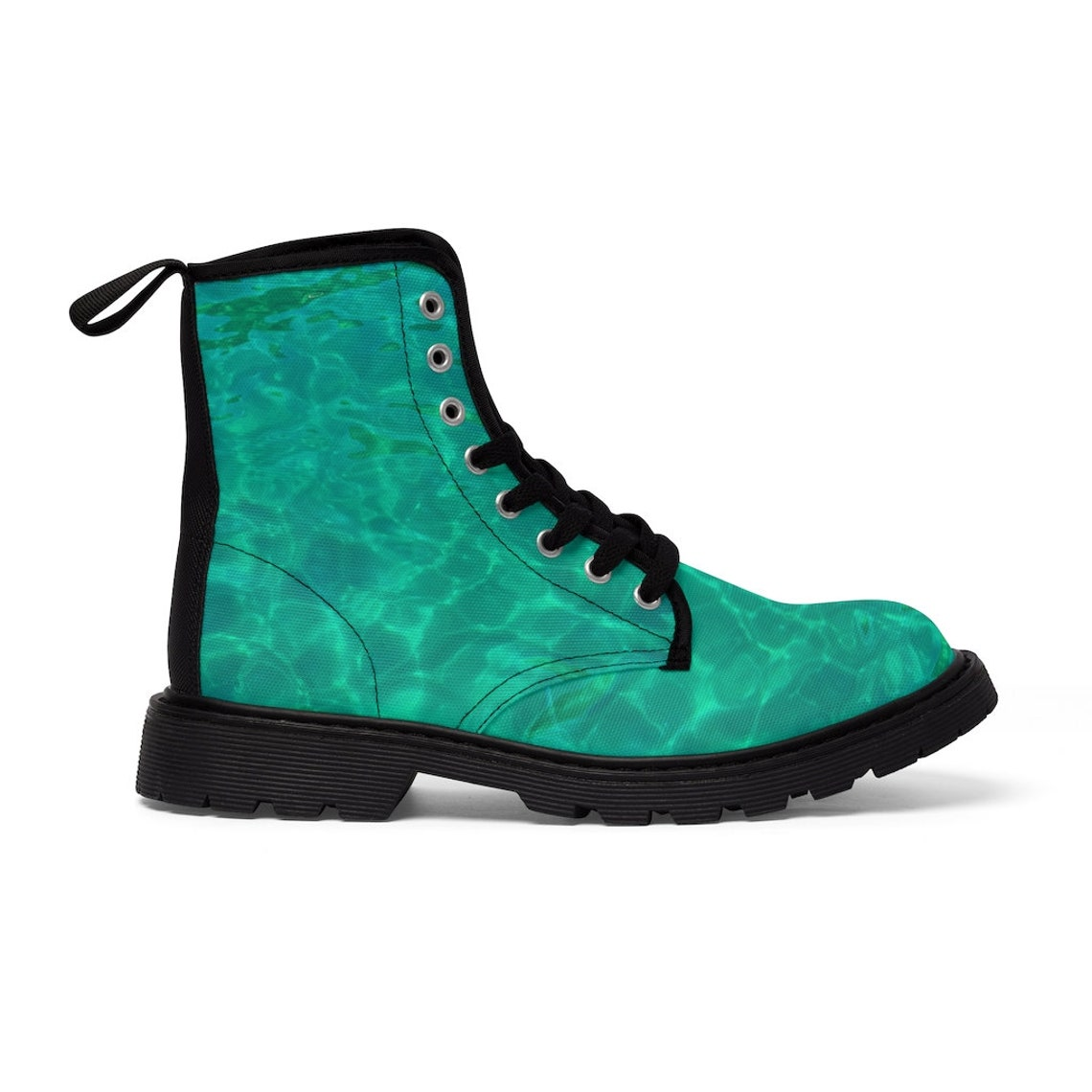 Emerald Sea Women's Canvas Boots