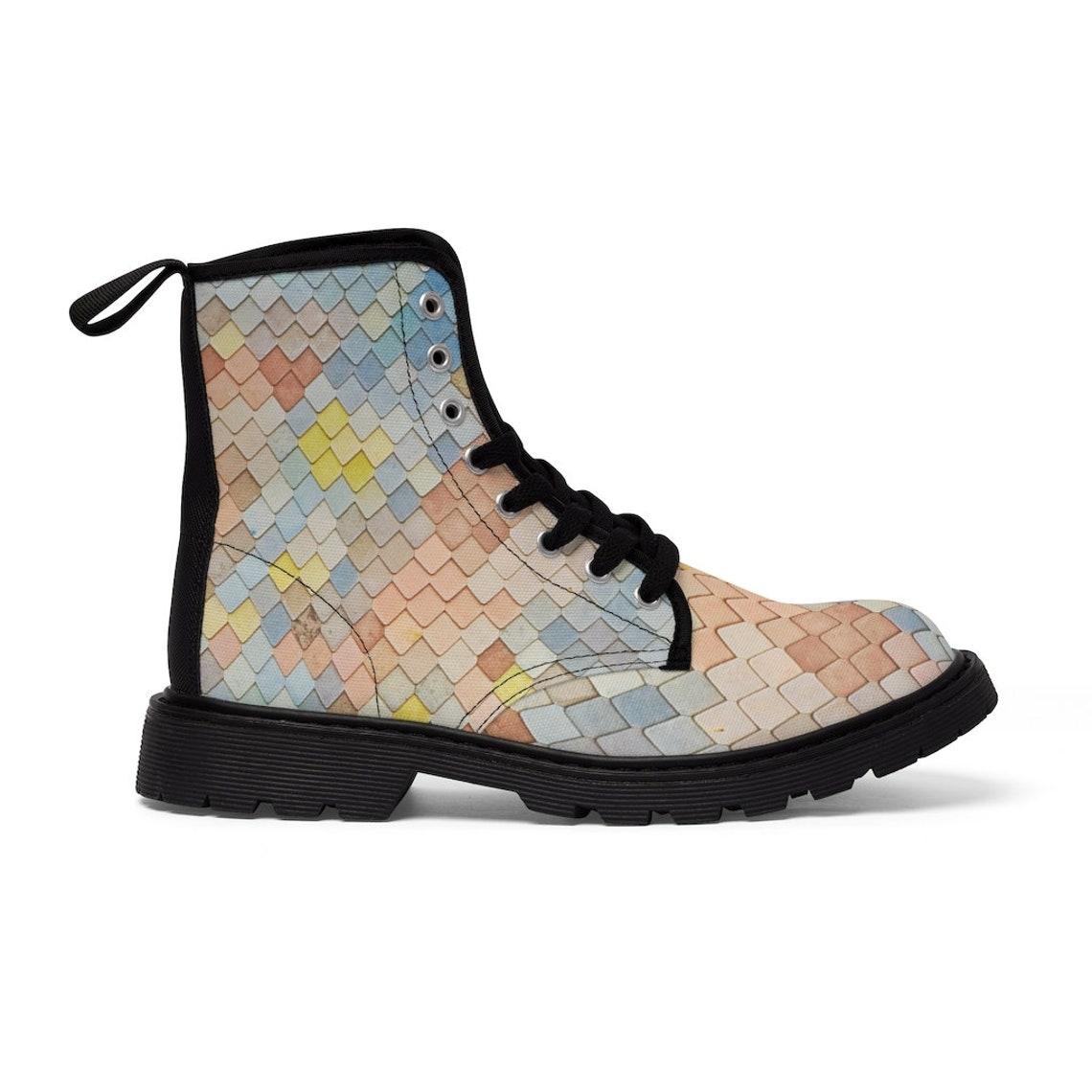 Unicorn Women's Canvas Boots