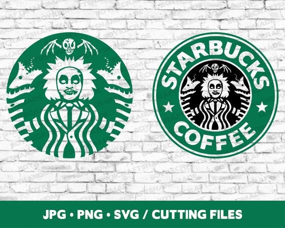 Beetlejuice Starbucks Logo Svg Beetlejuice Svg Starbucks Etsy
