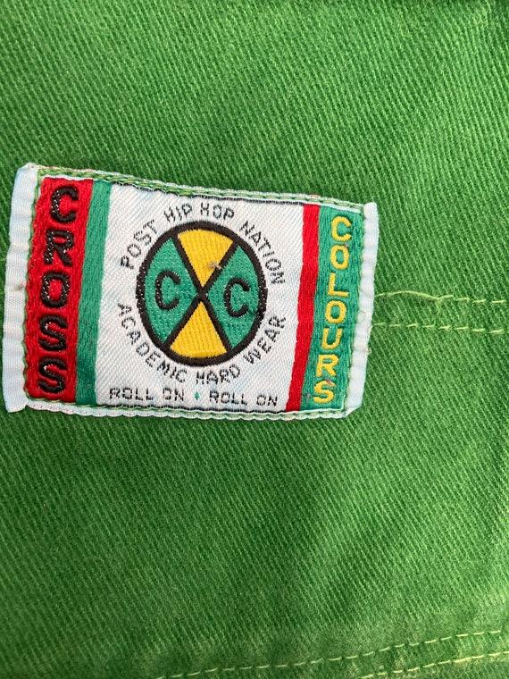 Vintage - Cross Colours Shorts 34W - image 3