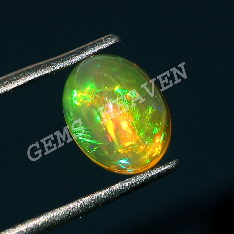 AAA 8 X 6  MM Size Opal Cabochon 100/%Natural Ethiopian Opal Gemstone Welo Fire Opal Stone jewelry Making  Stone for Ring