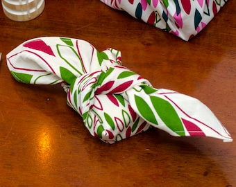 Heirloom ReWrap Christmas Tasmanian Pinot Noir - Furoshiki reusable giftwrap