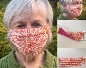 ReMask Classic individualised options (with elastic) reusable face mask 3 layers - Tasmanian made