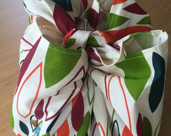 Heirloom ReWrap Launceston Autumn - Furoshiki reusable giftwrap