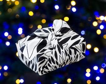 Heirloom ReWrap Magpie - Furoshiki reusable giftwrap, Tasmanian made