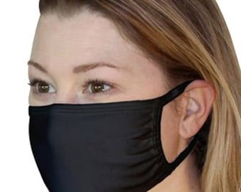 Protective Face Covers Washable at 60 Degrees Unisex Reusable Face Covering with Nose Wire 7 Available Colours