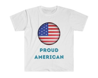 Proud American - Unisex Softstyle T-Shirt