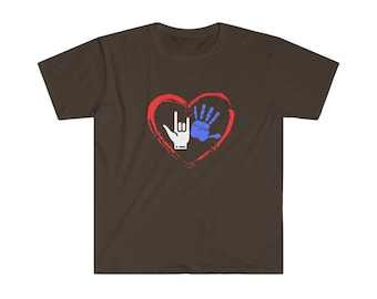 Run for Love (Special Needs) Unisex Softstyle T-Shirt