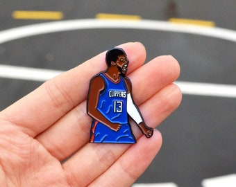 Paul George Los Angeles Clippers Pin ( 2 COLOURS)