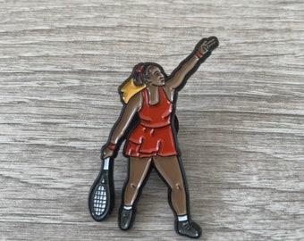 Serena Williams Tennis Soft Enamel pins