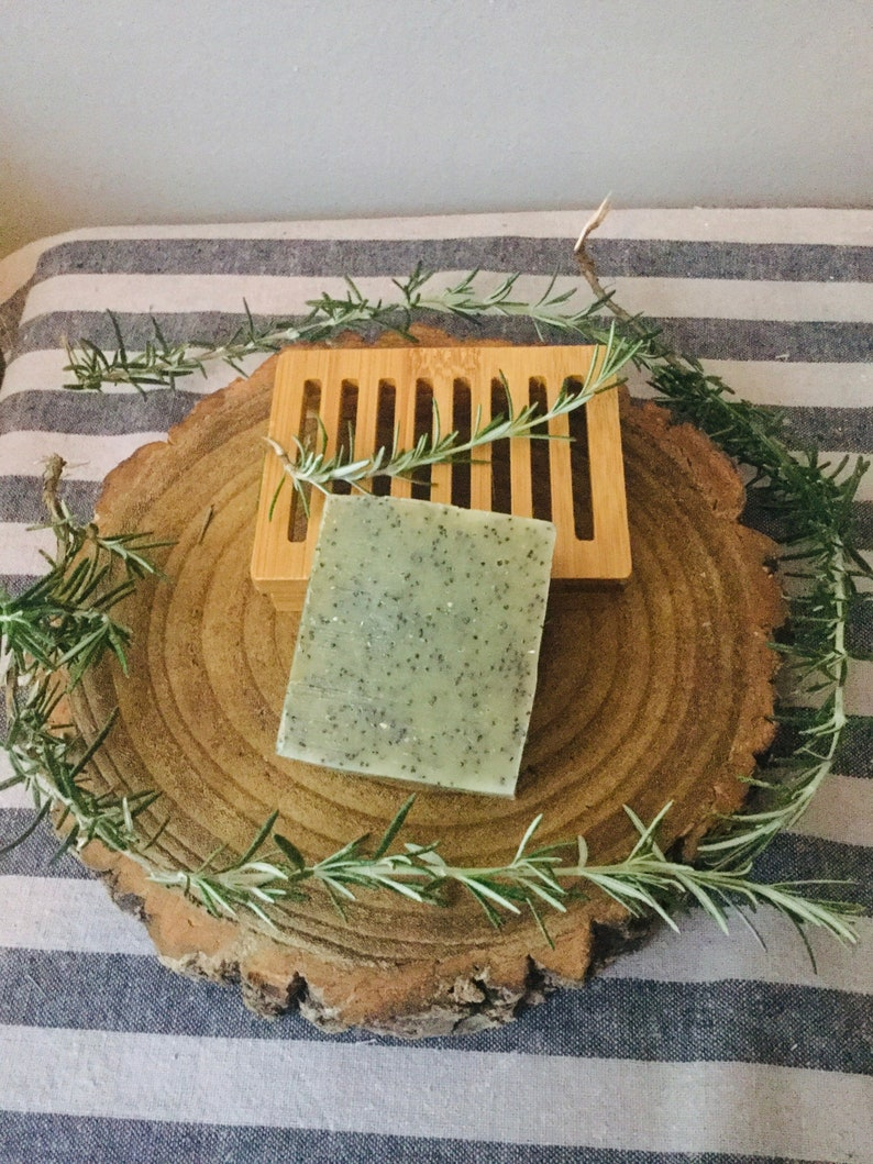 A gift For the keen Gardener exfoliating scrub soap and soap image 0