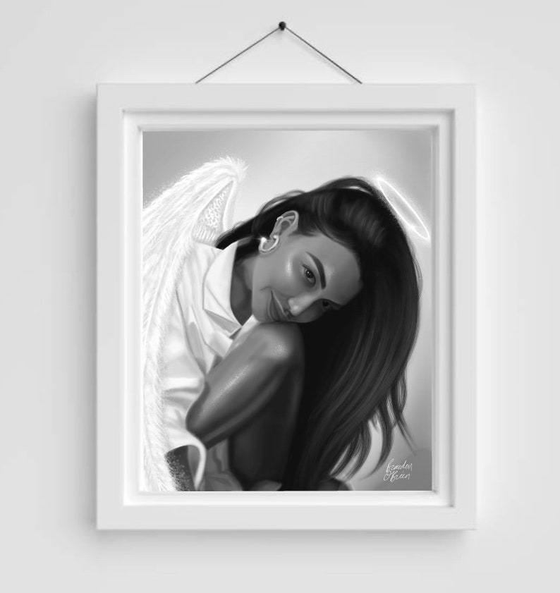 Rest in Peace Naya Rivera Digital Drawing