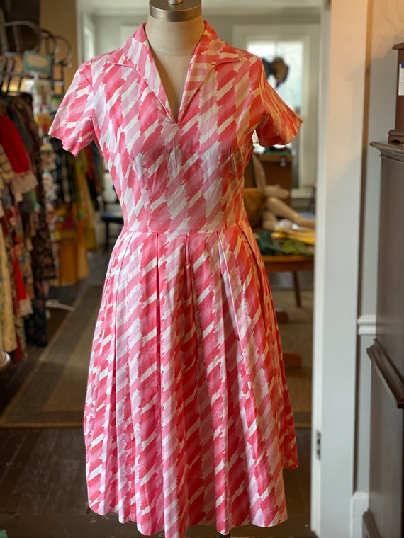 1950s Betty Barclay dress
