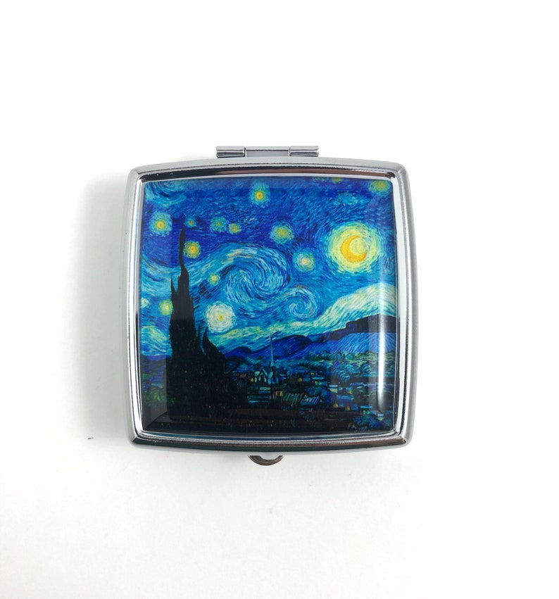 Pillendoos Sterrennacht Vincent van Gogh Pill Box Starry Night