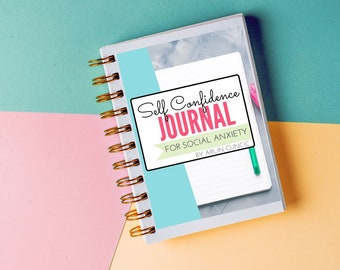 Self Confidence Journal for Social Anxiety