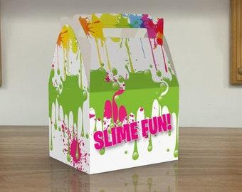 Slime Birthday Party Slime Juice Box Slime Favors Slime Capri Sun Slime Decorations Slime invite Slime Theme Party Slime Party