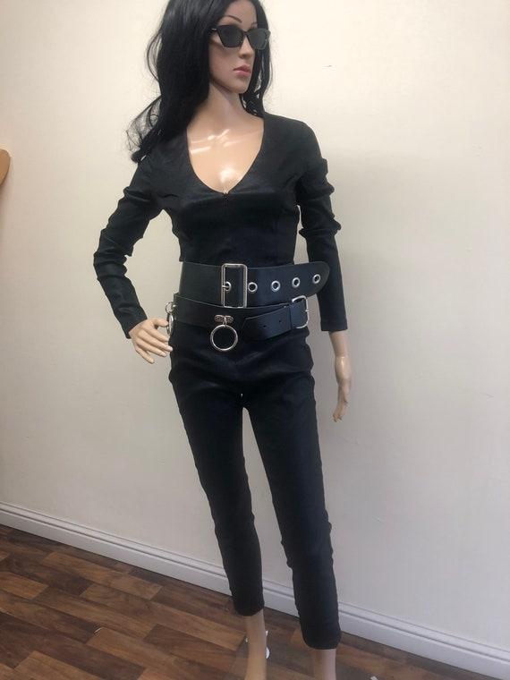 Black Collectif Cat Suit