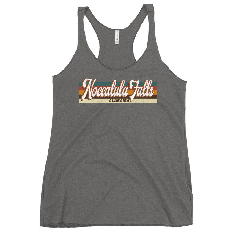 Retro 1970/'s 80/'S Style Noccalula Falls Alabama T-Shirt Noccalula Falls Alabama Tank Women Noccalula Falls Tank Noccalula Falls Tank Top