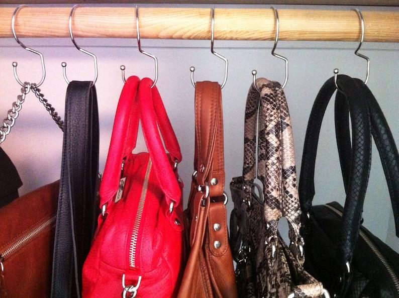 Tote Hanger®   Hang Your Handbags in Your Closet. image 0