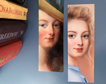 Marie Antoinette Bookmark Double Sided | French History Bookmark | French Monarchy | Royals | French Revolution | Stocking Stuffer