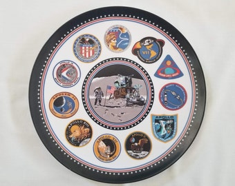 1982 Souvenir Plate SOUTH PADRE ISLAND-Texas