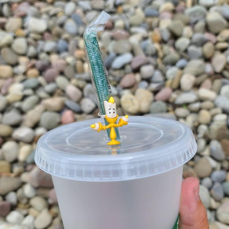 Beauty Straw ToppersStraw CharmsDisney PrincessStarbucks cupBeastDisney Inspiredwinewine glasswine charms