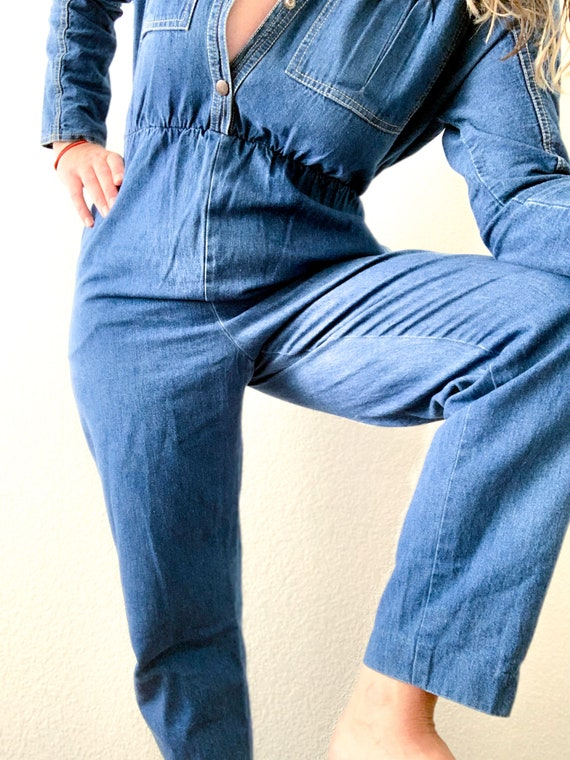 Vintage Denim Jumpsuit