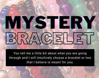 Mystery Crystal Bracelet | Choose your Emotion or Tell your Story