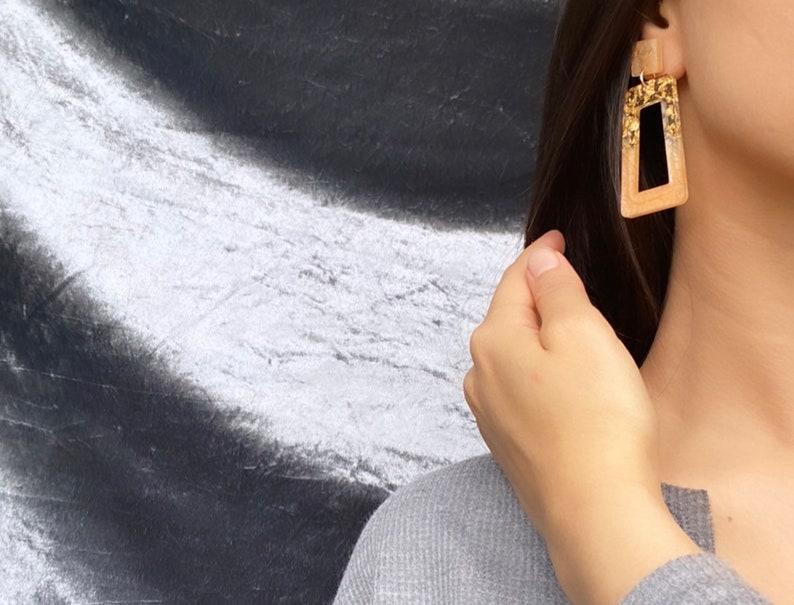 Custom Resin Earrings