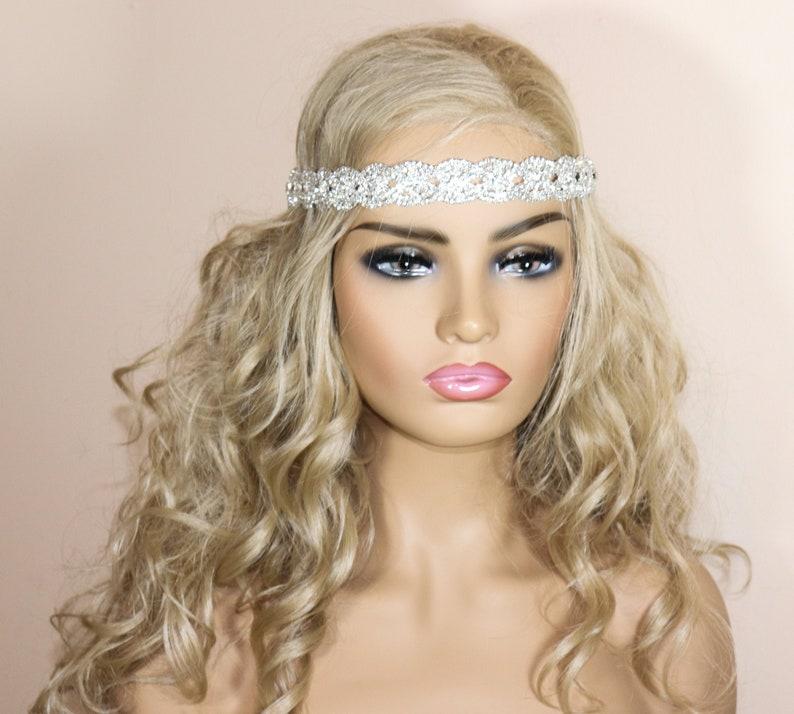 Wedding Hair Vine Crystal Wedding Headband wedding headpiece Crystal Headpiece Wedding Headband SL30020