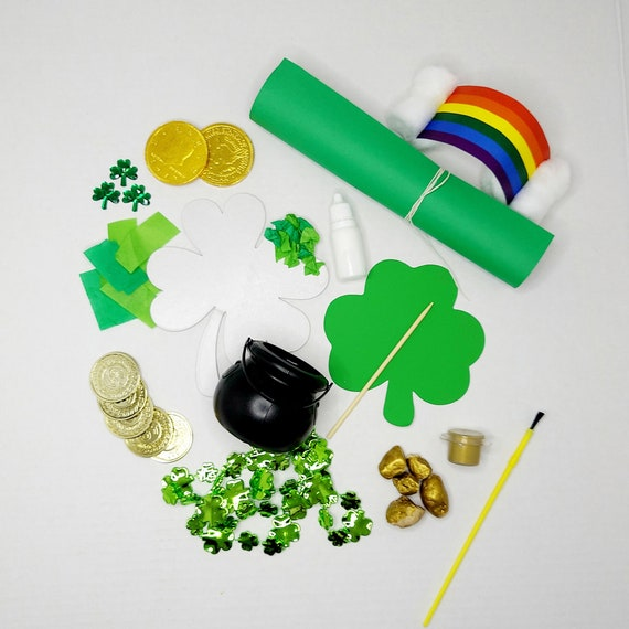 Leprechaun Trap Box/ St. Patrick's Day Kids Box/ March