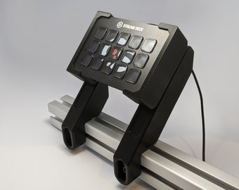 Universal Stream Deck Mount for Extruded Aluminum Profile - UNI Series