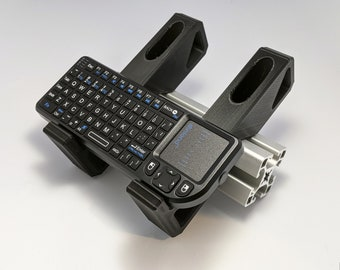 Universal Keyboard Holders for Extruded Aluminum Profile - UNI Series