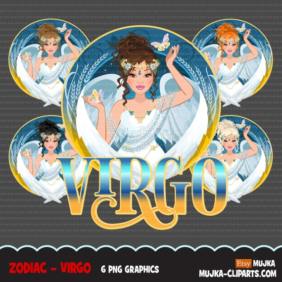 Ever The Contradiction, Virgos Have It Two Ways When - Zodiac Signs Virgo  Logo Clipart (#949223) - PinClipart