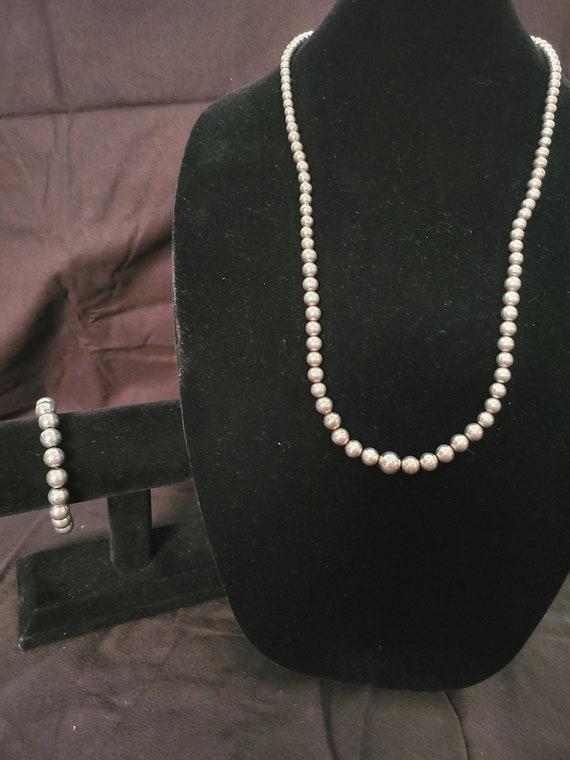 2 piece set in sterling silver
