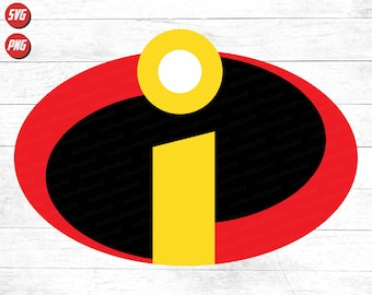 The Incredibles Logo Etsy
