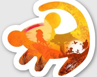 Lion King Simba Sticker