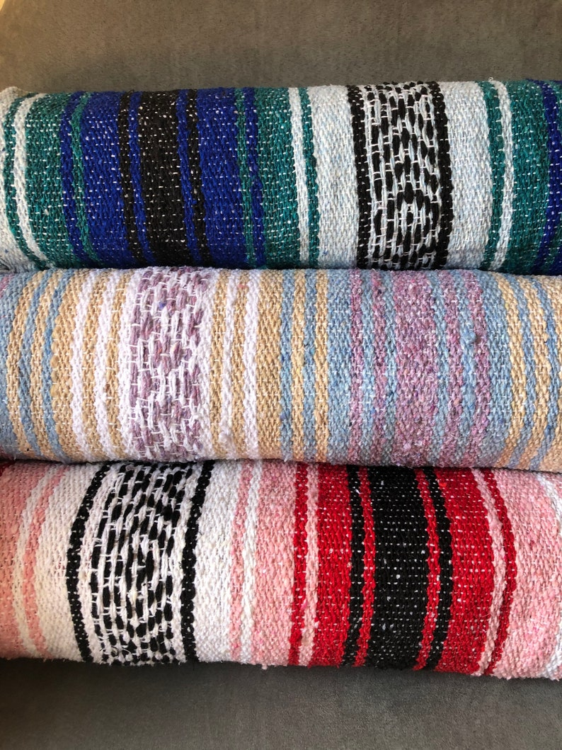 Mystery Mexican Blanket for the Beach Yoga and Picnic. image 0