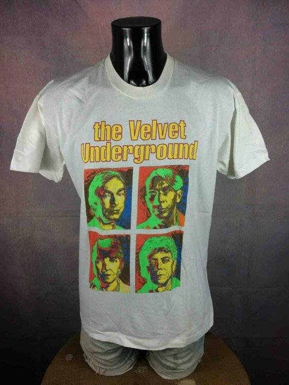 VELVET UNDERGROUND T-Shirt 1993 Reunion Tour