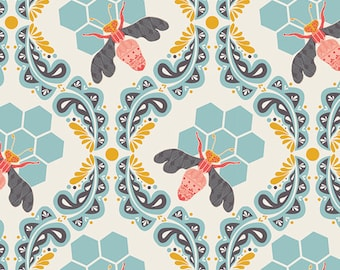 Bee Sweet Morning - from Sweet as Honey by Bonnie Christine - for Art Gallery Fabrics - 100% Cotton Quilting Fabric