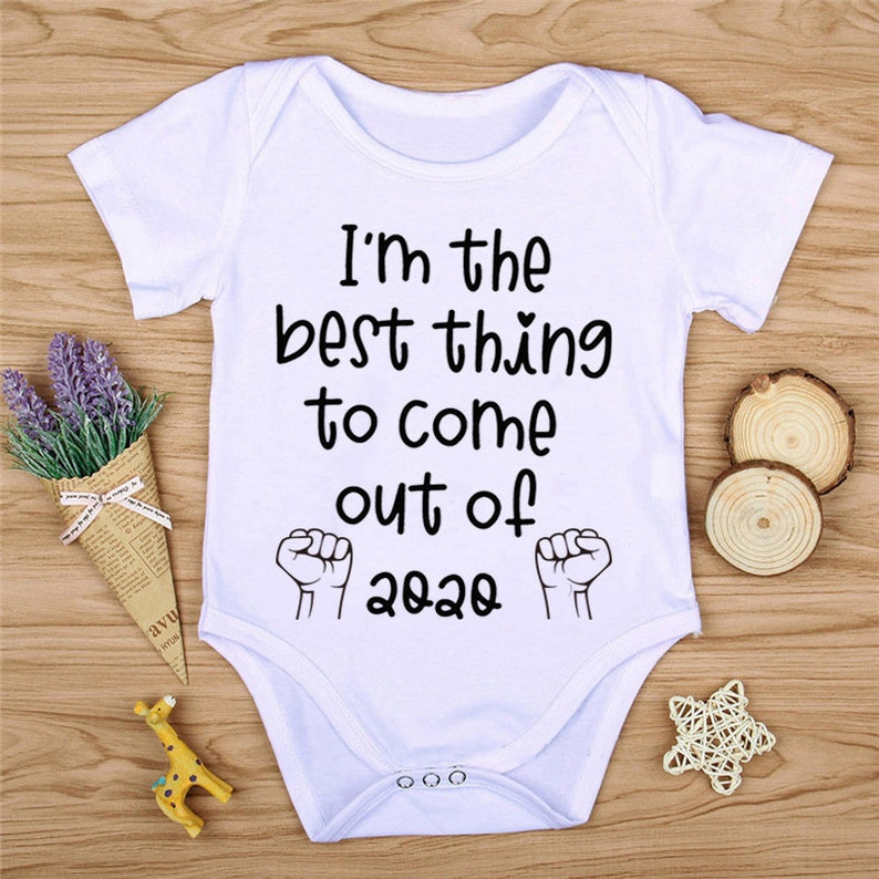 BLM Onesie Pandemic Baby I/'m The Best Thing To Come Out Of 2020 Onesie Come on in 2020 Too Young for a Mask Quarantine Onesie