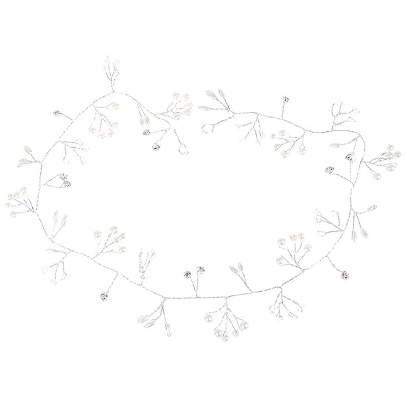 Pearl Crystal Wedding Hair Vine Crystal Bridal Accessories Headband News Romantic Women Hair Jewelry Beauty
