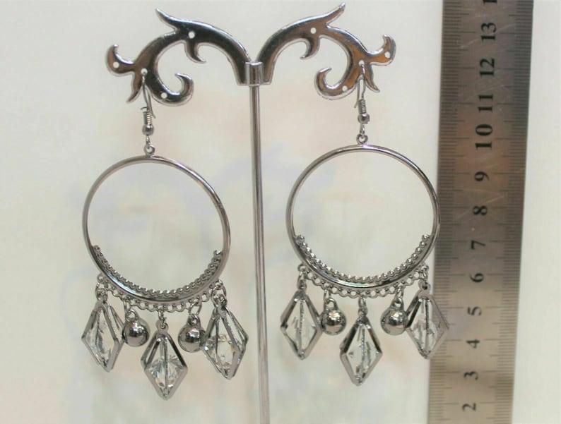 Indian Silver Plated Oxidized Latest Design Jumka Jumki Earring Women Fashion