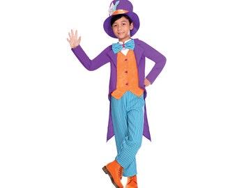 Mad Hatter Costume Kids Etsy