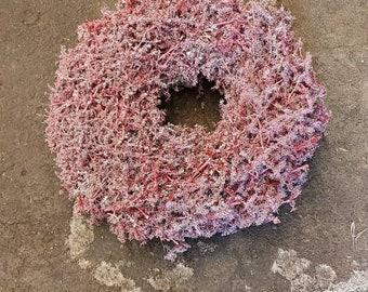 Waxed Wildasparagus Wreath