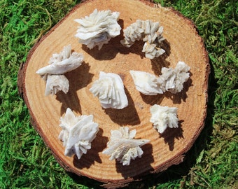 Calcite after Glauberite Raw